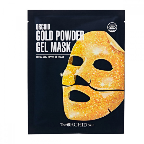 The ORCHID Skin Gold Powder Gel Mask